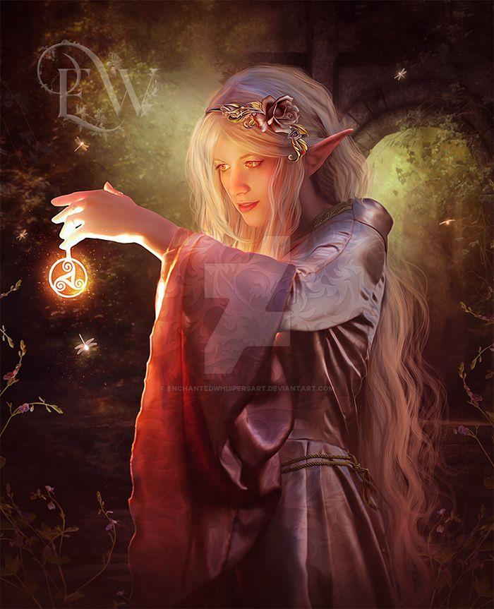 Elven Magic by EnchantedWhispersArt