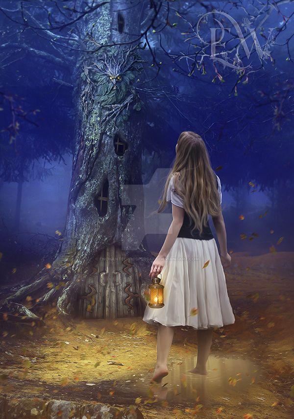 The Wanderer by EnchantedWhispersArt