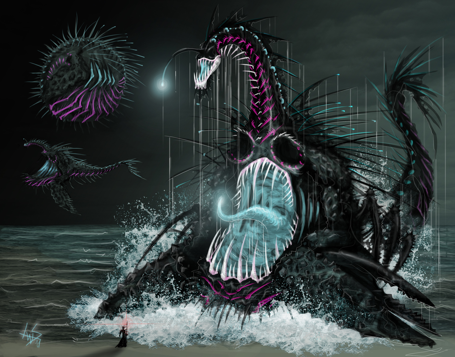 Blind Void Behemoth by ElDoctorGoredealer