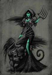 Wicked Witch by ElDoctorGoredealer