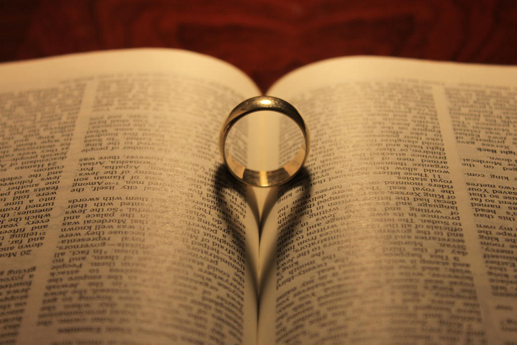 Wedding Ring In Bible by xElectricHigh on DeviantArt
