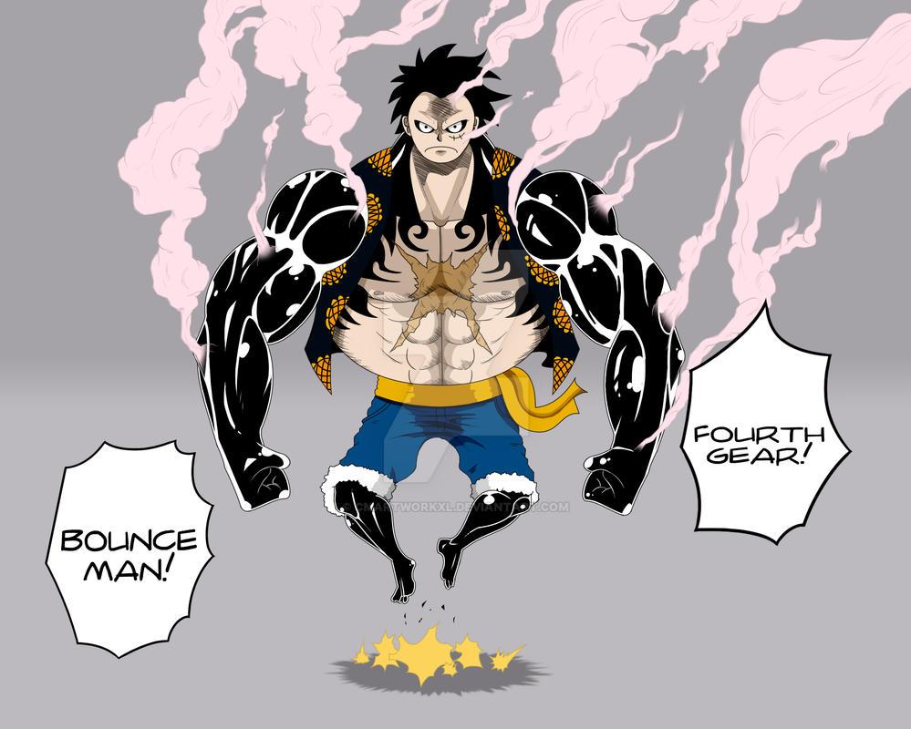 Luffy Gear 4 Tattoo: Fourth Gear! By CMartworkXL On DeviantArt