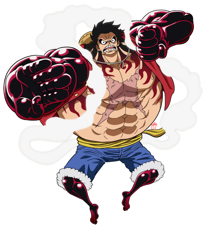 Gear Fourth Luffy /UPDATED 2017/ By CMartworkXL On DeviantArt