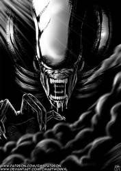 Halloween Fest 2019 - Alien (1979) Illustration