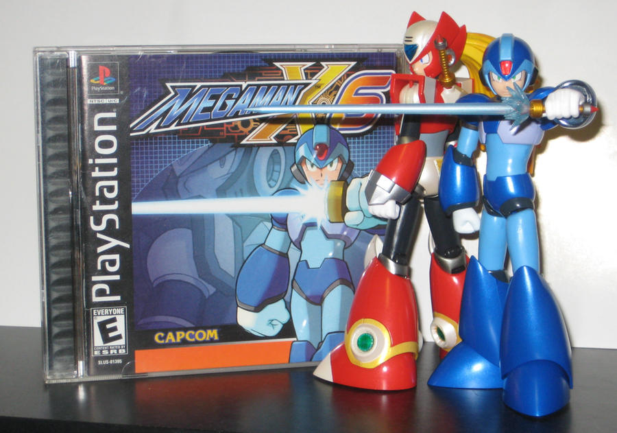 -X Cover Shoot- MegaMan X6 (updated) by Nin10doNerd