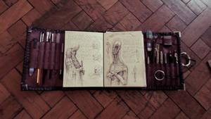 Handmade/Personal Sketchbook