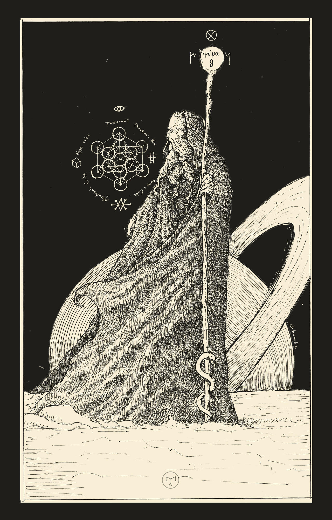 The Hermit Tarot Card Meaning In Readings Isolation: The Hermit ( Tarot Card ) By Erikemiranda On DeviantArt