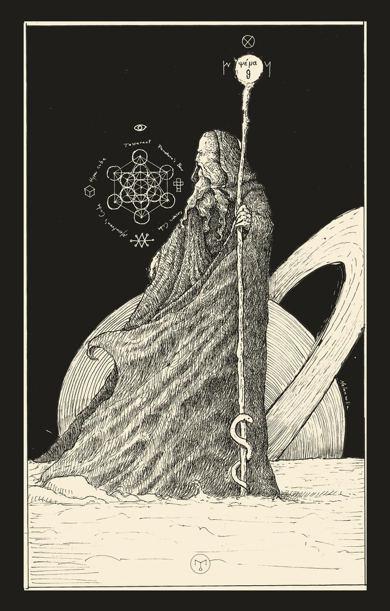 The Hermit ( Tarot Card )