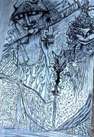 improv with Sarah Art by nolongerhumantef