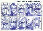 Guess my Gundams