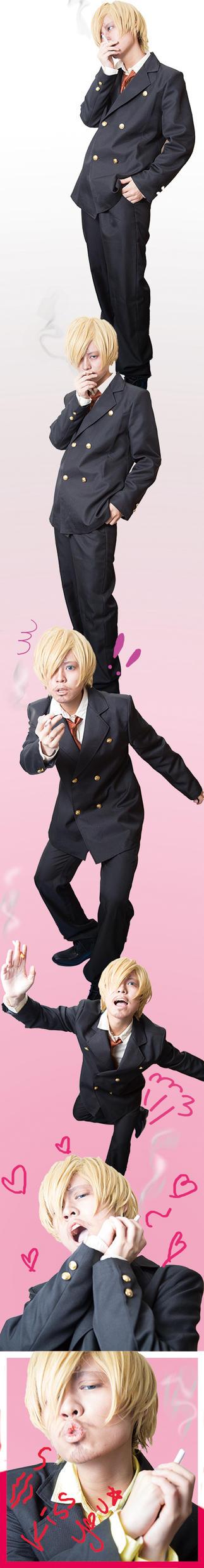 Sanji going merorine by YURI-27