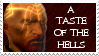 Ammon Jerro stamp: A taste of the hells by Xmas-freak-hikaru