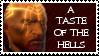 Ammon Jerro stamp: A taste of the hells by Xmas-freak-hikaru