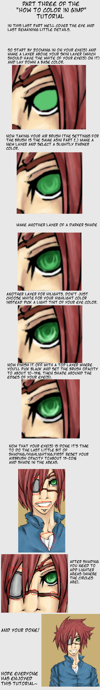 How to Color in GIMP Pt.3 by sasukechan111