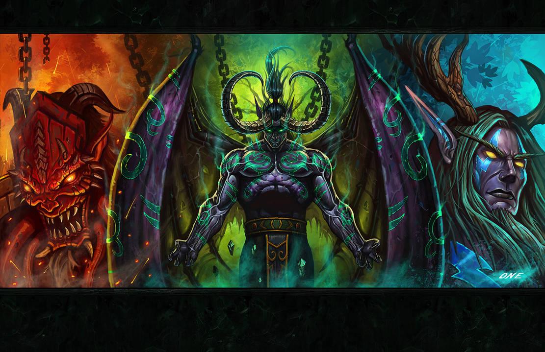 Illidan's Choice by Dark-ONE-1