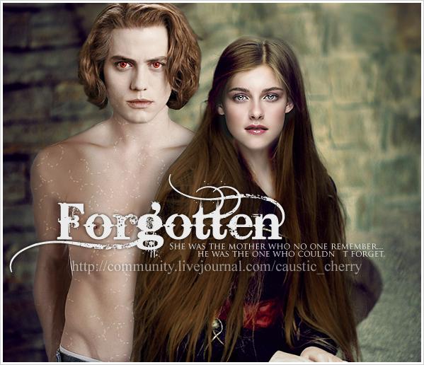Forgotten - fanfic cover by Jasper-x-Bella on DeviantArt