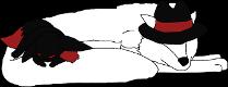 Evil Eevee Premade by Nicortkl