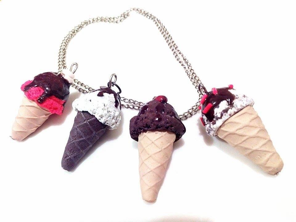 Polymer clay icecream :) by bampira