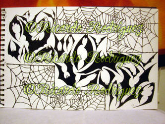 webs and bats by southtexasartdog
