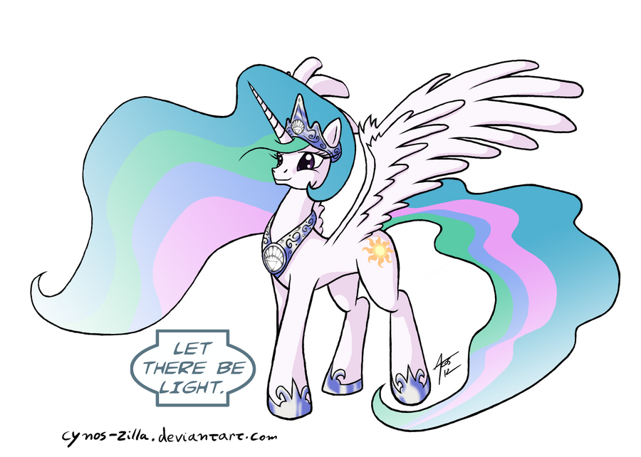 """Pics & Gifs Thread #1: Gasmask should spell my name with an """"o"""" from now on - Page 5 Mlp__blackest_night___celestia_by_cynos_zilla-d4w2wb6"""