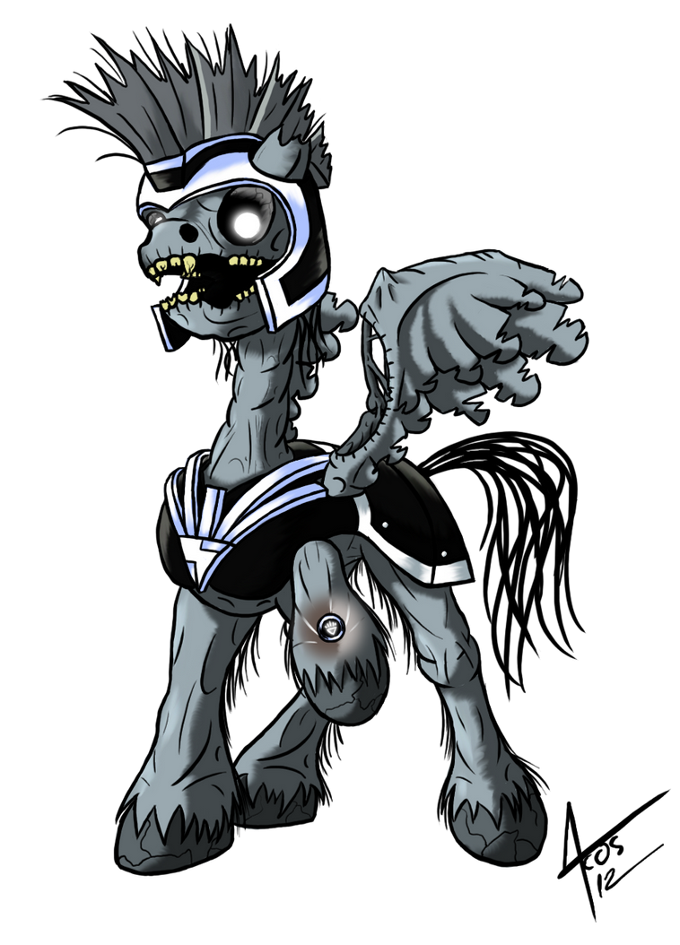 MLP: Blackest Night - Commander Hurricane by Cynos-Zilla