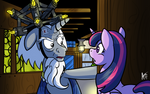 The bruise on your head, I know how that happened by Cynos-Zilla