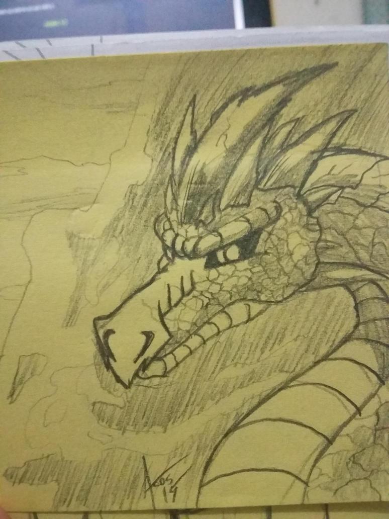 Dragon head by Cynos-Zilla