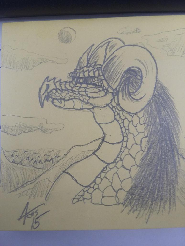 Elder Dragon by Cynos-Zilla