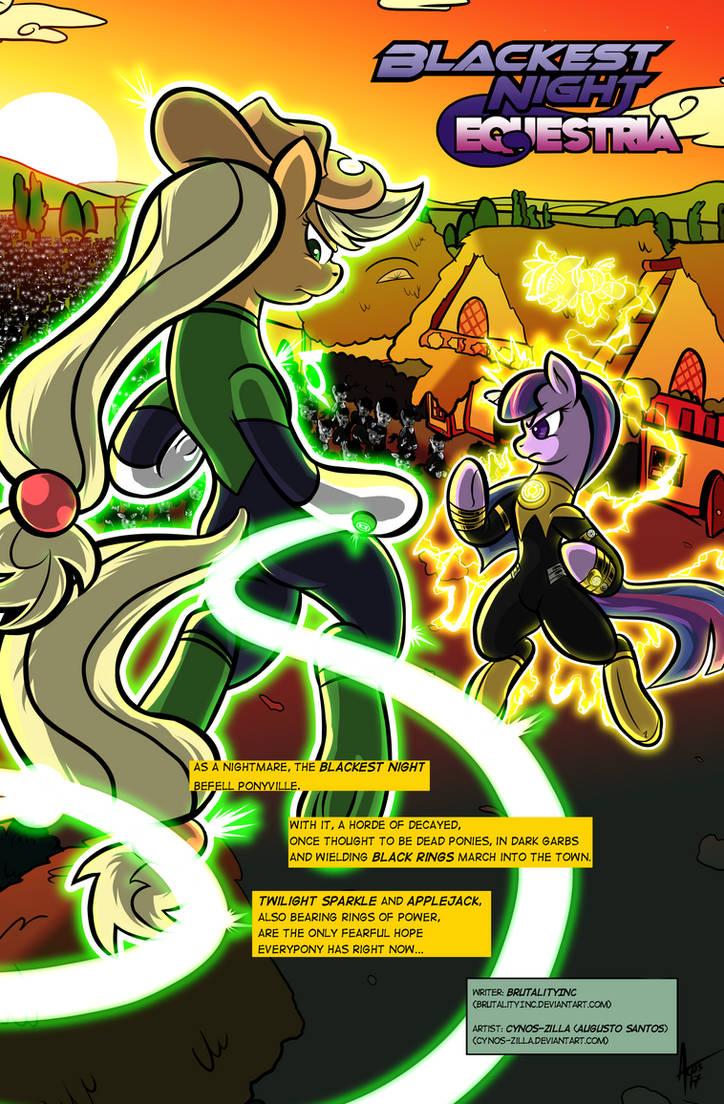 Blackest Night: Equestria #00 (01/08)