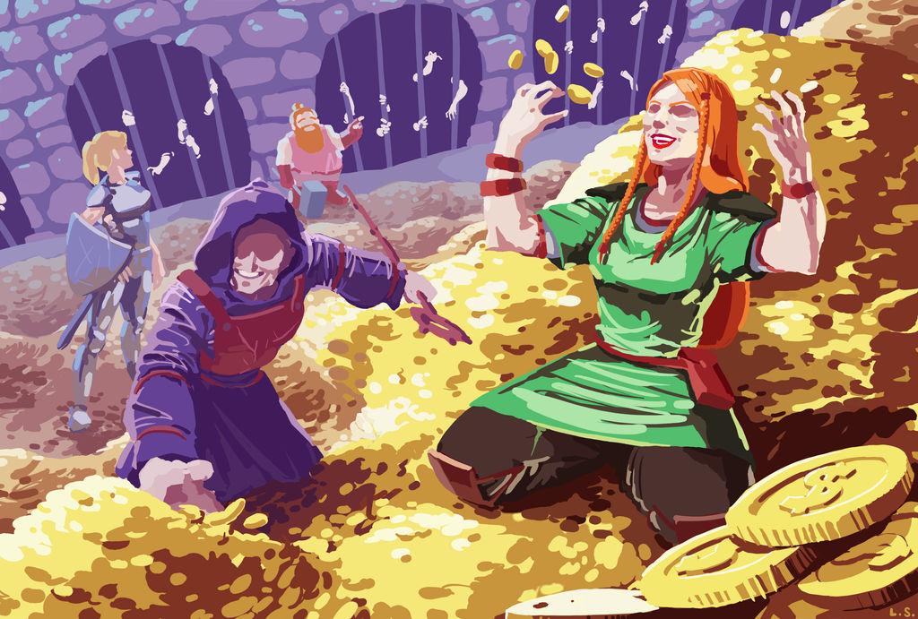 Gold in da dungeon