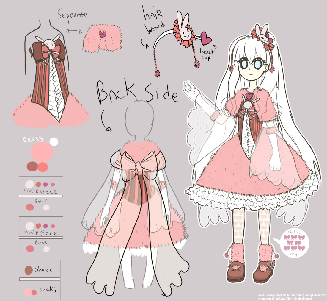Anime Character Design Contest : Mini contest entry character outfit design by