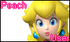 Peach User Stamp by NatouMJSonic