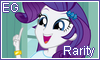 Equestria Girls Rarity stamp