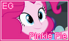Equestria Girls Pinkie Pie Stamp by NatouMJSonic