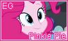Equestria Girls Pinkie Pie Stamp by NatouMJSonic