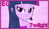 Equestria Girls Gorgeous Twilight Stamp by NatouMJSonic