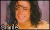 Michael Jackson Smile Stamp by NatouMJSonic