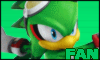 Jet The Hawk Stamp by NatouMJSonic
