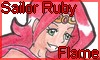 Stamp Points commission: Sailor Ruby Flame by NatouMJSonic