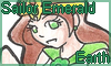 Stamp point commission: Sailor Emerald Earth by NatouMJSonic