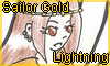 Stamp Points Commission Sailor Gold Lightning by NatouMJSonic