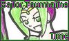 Stamp Points Commission Sailor Tourmaline Time by NatouMJSonic