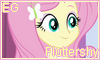 EG Fluttershy Stamp 2 by NatouMJSonic