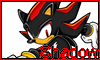 Shadow The Hedgehog Stamp by NatouMJSonic