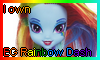 EG Rainbow Dash Doll Stamp by NatouMJSonic