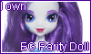 EG Rarity Doll stamp by NatouMJSonic