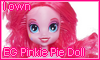 EG Pinkie Pie Doll by NatouMJSonic