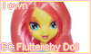 EG Fluttershy Doll by NatouMJSonic