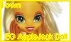 EG AppleJack doll by NatouMJSonic