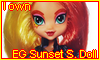 EG Sunset Shimmer Doll by NatouMJSonic